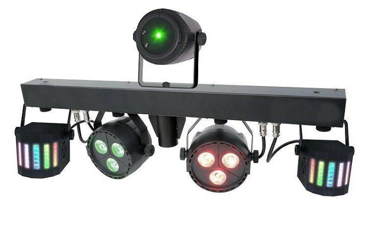 Mini LED 4pcs LED Laser Projector Night