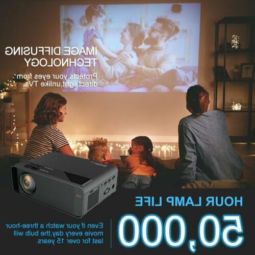 4K WiFi 3D Mini Video Home Projectors Cinema