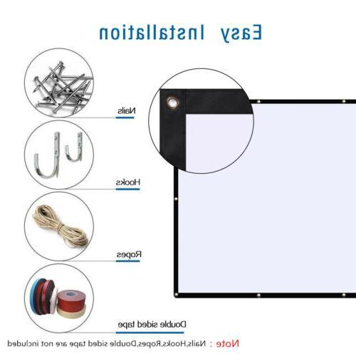 "MINI LED/LCD 1080P 3D Home Cinema HDMI or 100"" Screen"