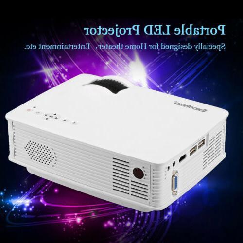 MINI Projector 1080P 7000Lumens Cinema or Screen
