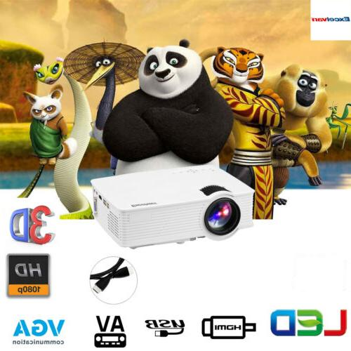 mini led lcd projector fhd 1080p 7000lumens