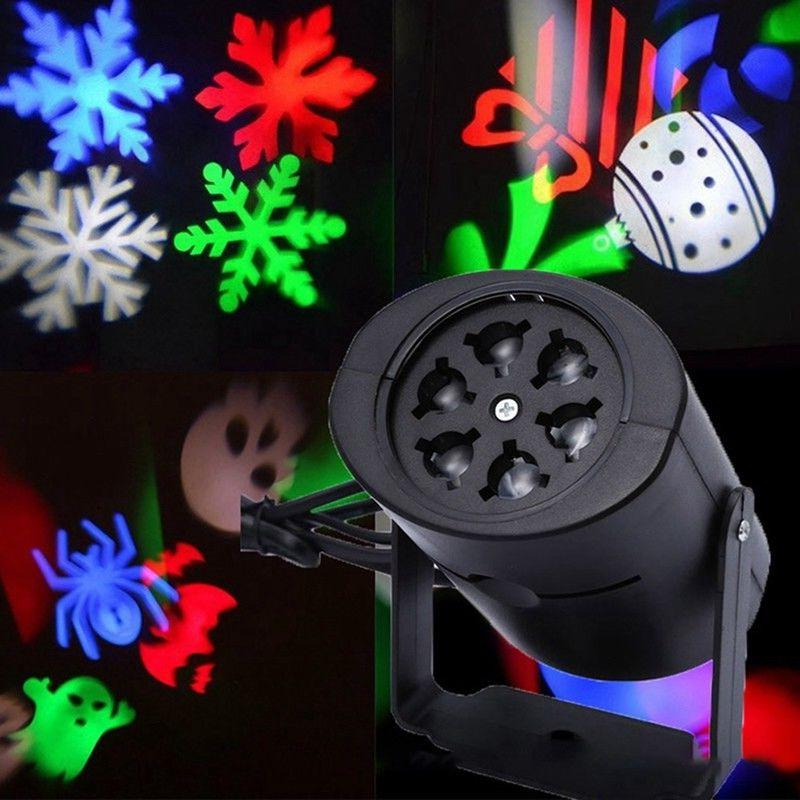 mini led projector christmas moving laser projection
