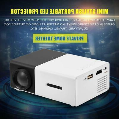 fosa LED Projector, Mini Private Home Portable