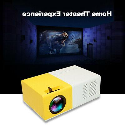 mini led projector portable lcd 1080p projection