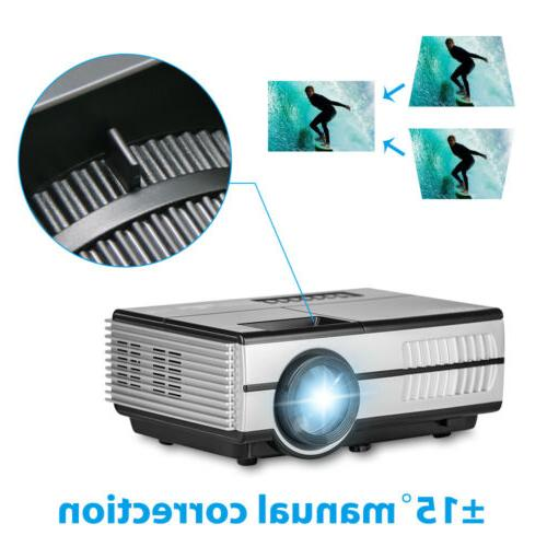 Smart Android Projector WIFI Home Party Airplay
