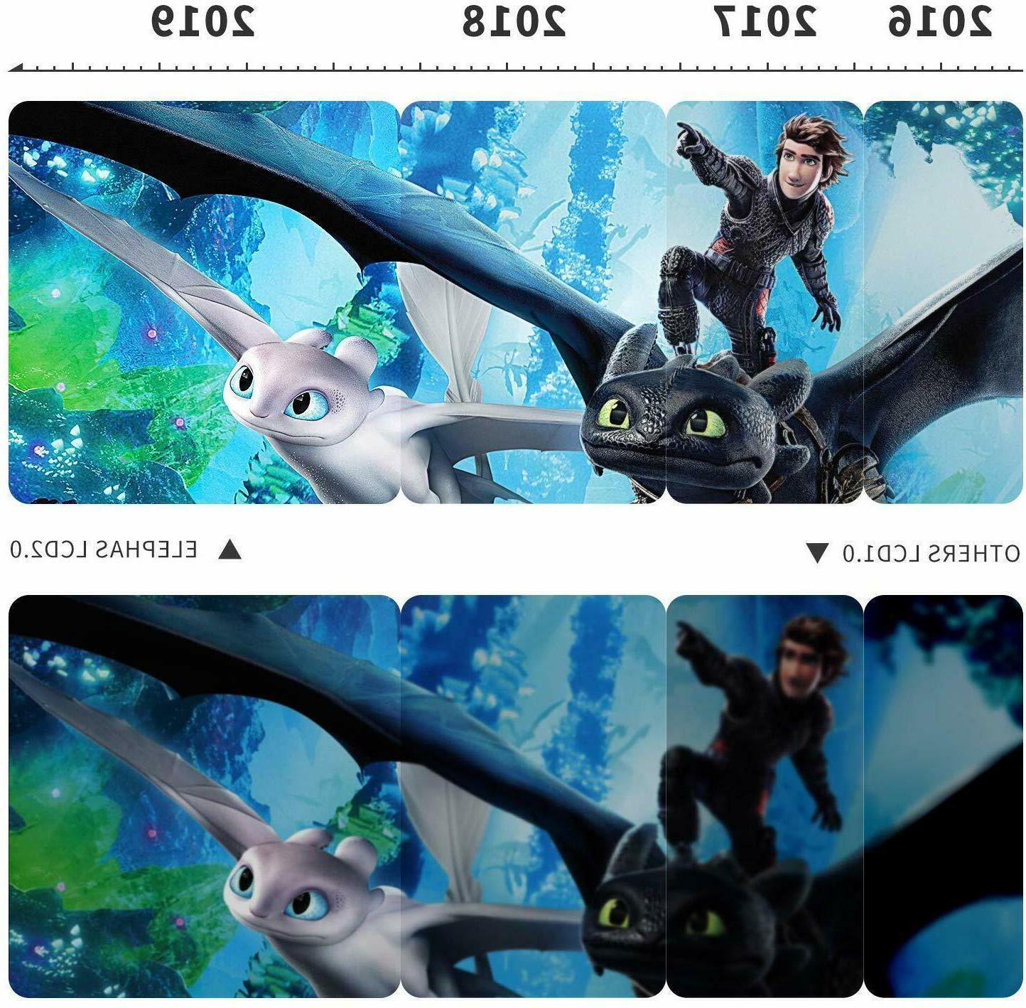 "ELEPHAS Mini Movie 4500 LUX Hours LED 200"""