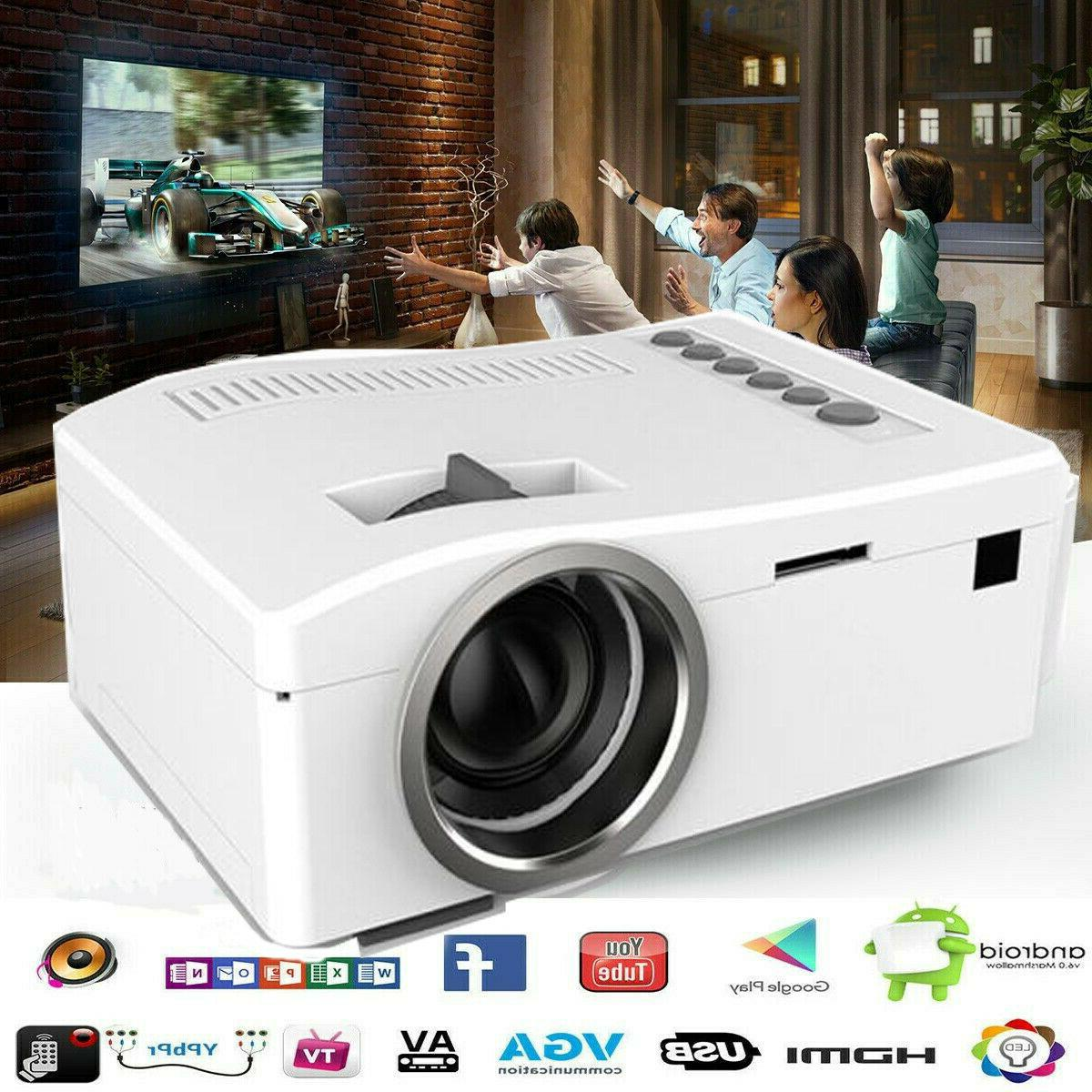 mini multimedia 3d 1080p hd led video