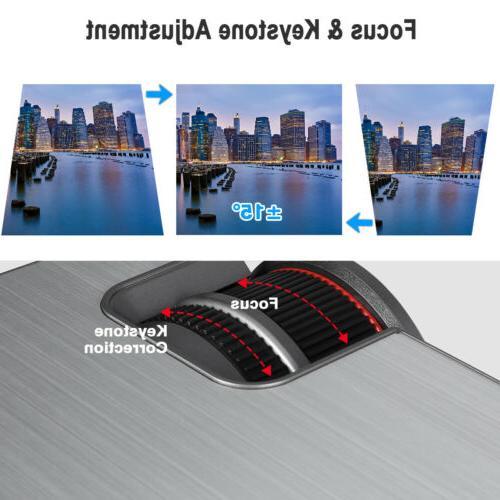 Mini 1080P Projector Home 5000 Lumens