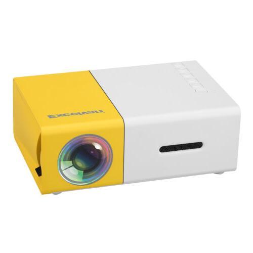 LED Projector Home Cinema AV USB SD Card