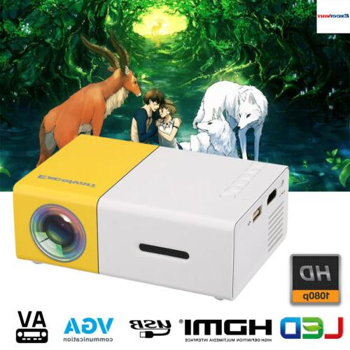 mini pico hd 1080p led lcd projector