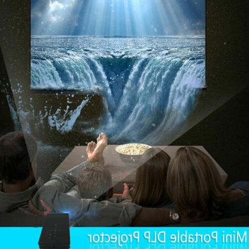 Mini Pocket 3000 DLP Android HD 1080P USB Home Cinema