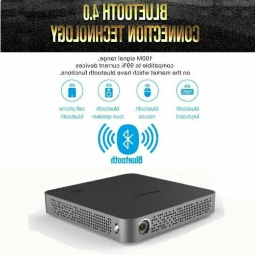Mini Pocket Android Home Theater Wifi Projector HDMI