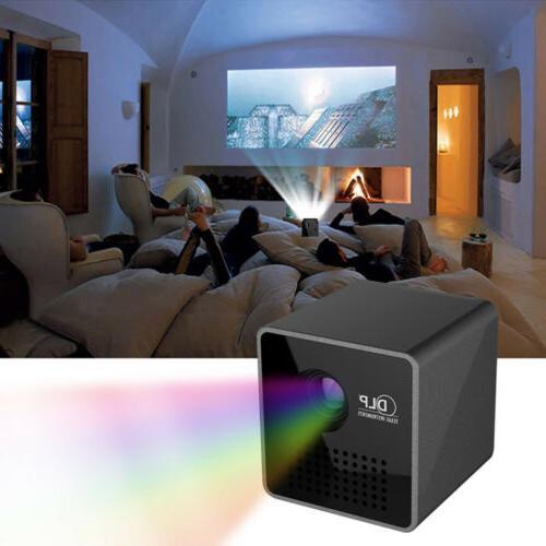 Wifi Pocket Projector Home USB/TF&