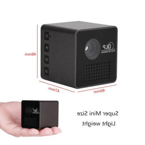 1080P FHD Wifi Projector USB/TF&