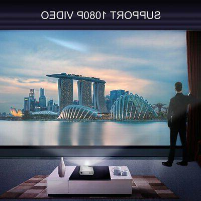 Mini Pocket BL20+ Projector 1080P Home Cinema Multimedia AV HDMI USB