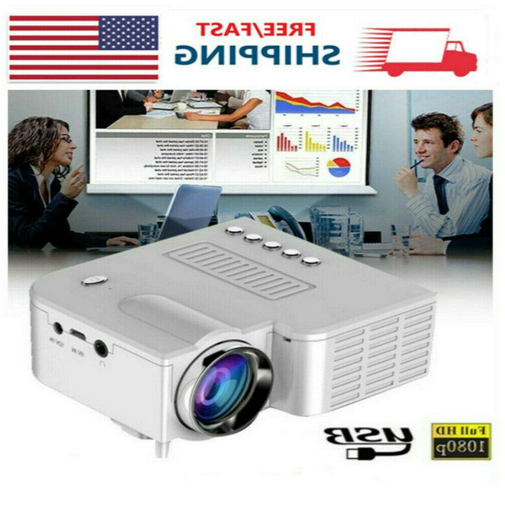 mini pocket led portable projector 1080p home