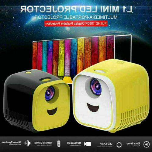 mini pocket led projector hd 1080p home