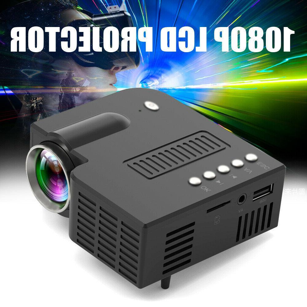 Mini Portable LED Video Home Theater