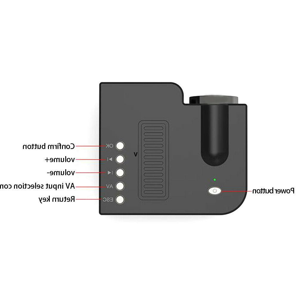 Mini Portable Projector LED Video Cinema
