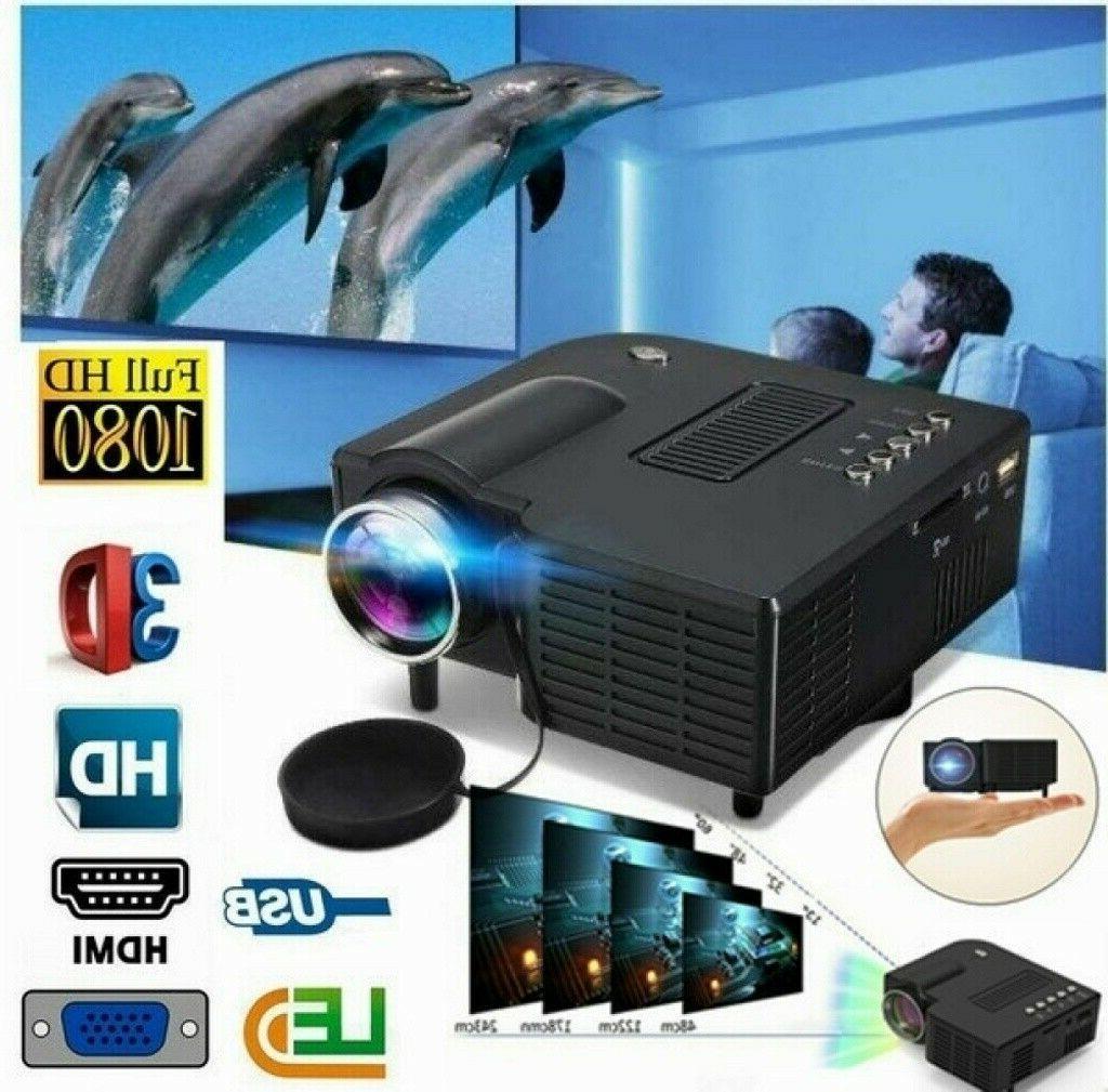 mini portable 1080p projector led micro mobile