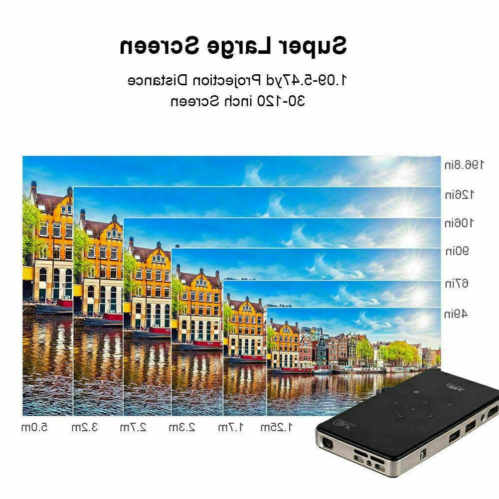 Mini 3000 lumens DLP Android Wifi 1080P Projector