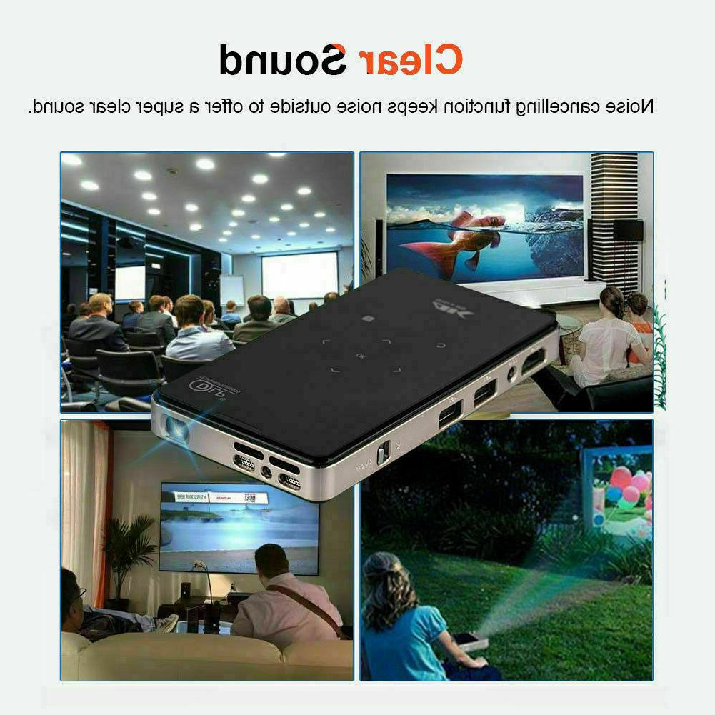 Mini 3000 DLP Android 1080P Projector