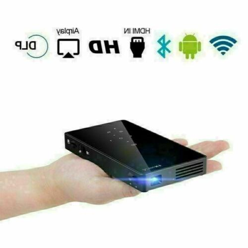 Mini Portable DLP Android 1080P Projector