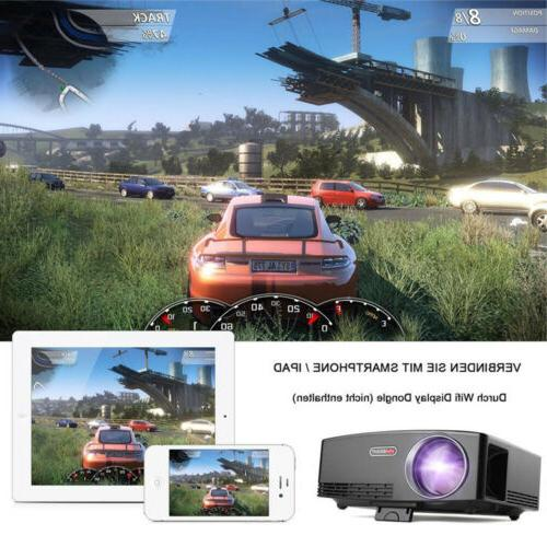 Mini Portable LED Android Wifi 1080p 4K Projector