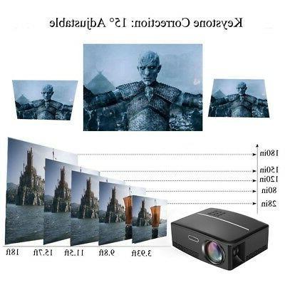 Mini 3000Lumen Android 1080p Projector