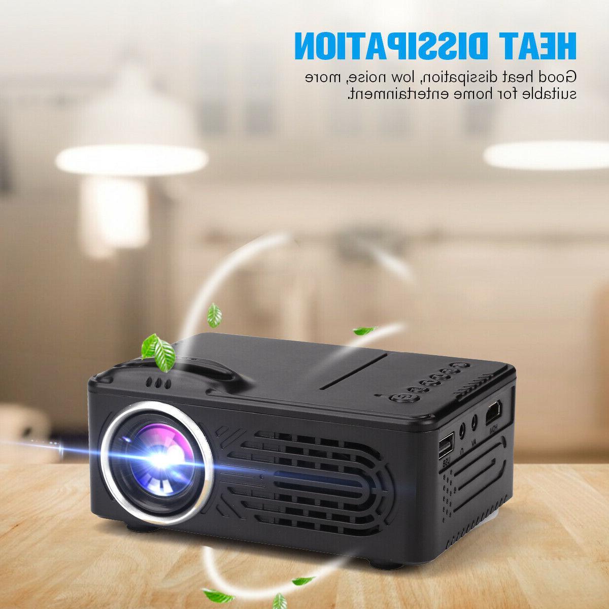 Mini Lumens HD 1080P 3D Projector HDMI