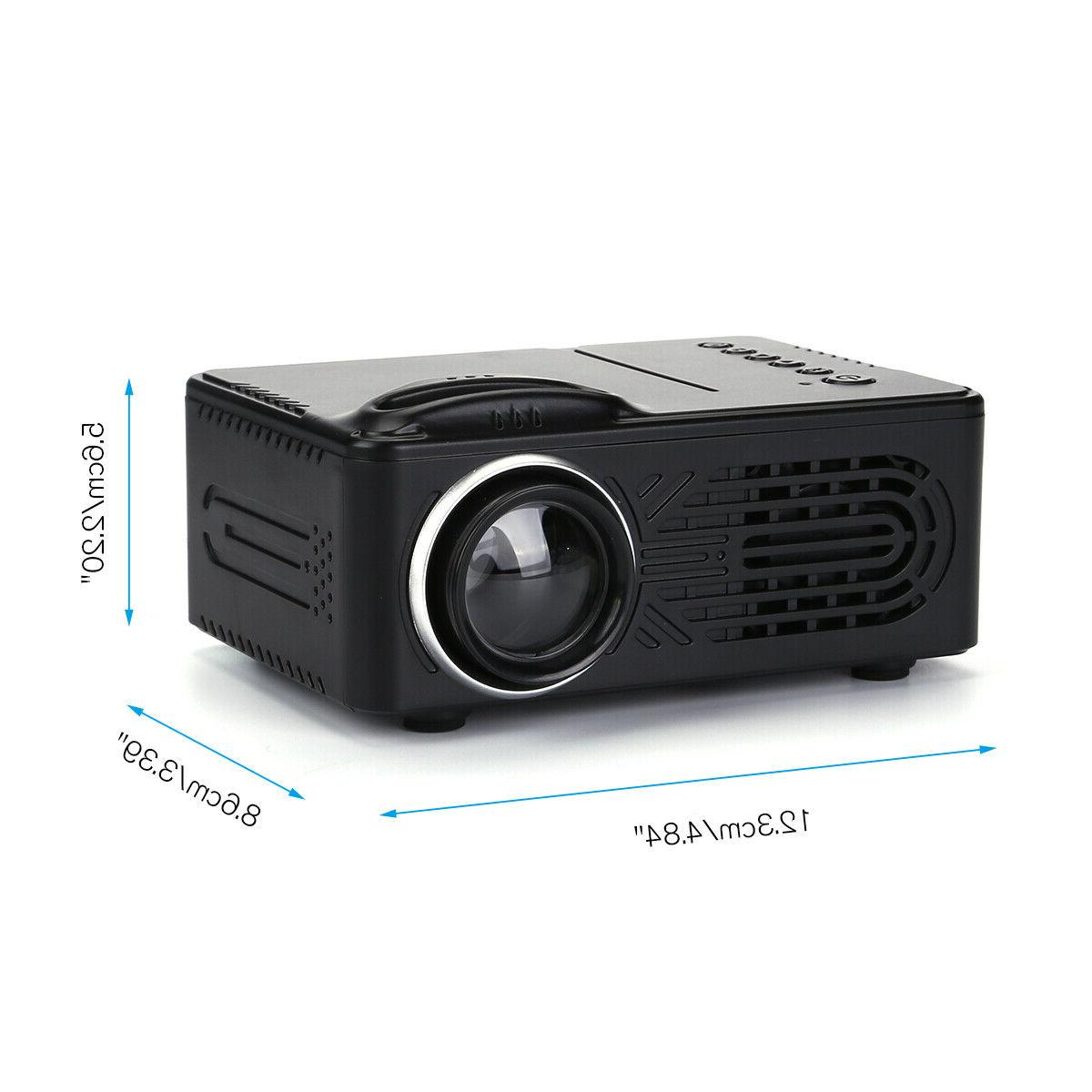 HD 3D Multimedia Projector Theater HDMI