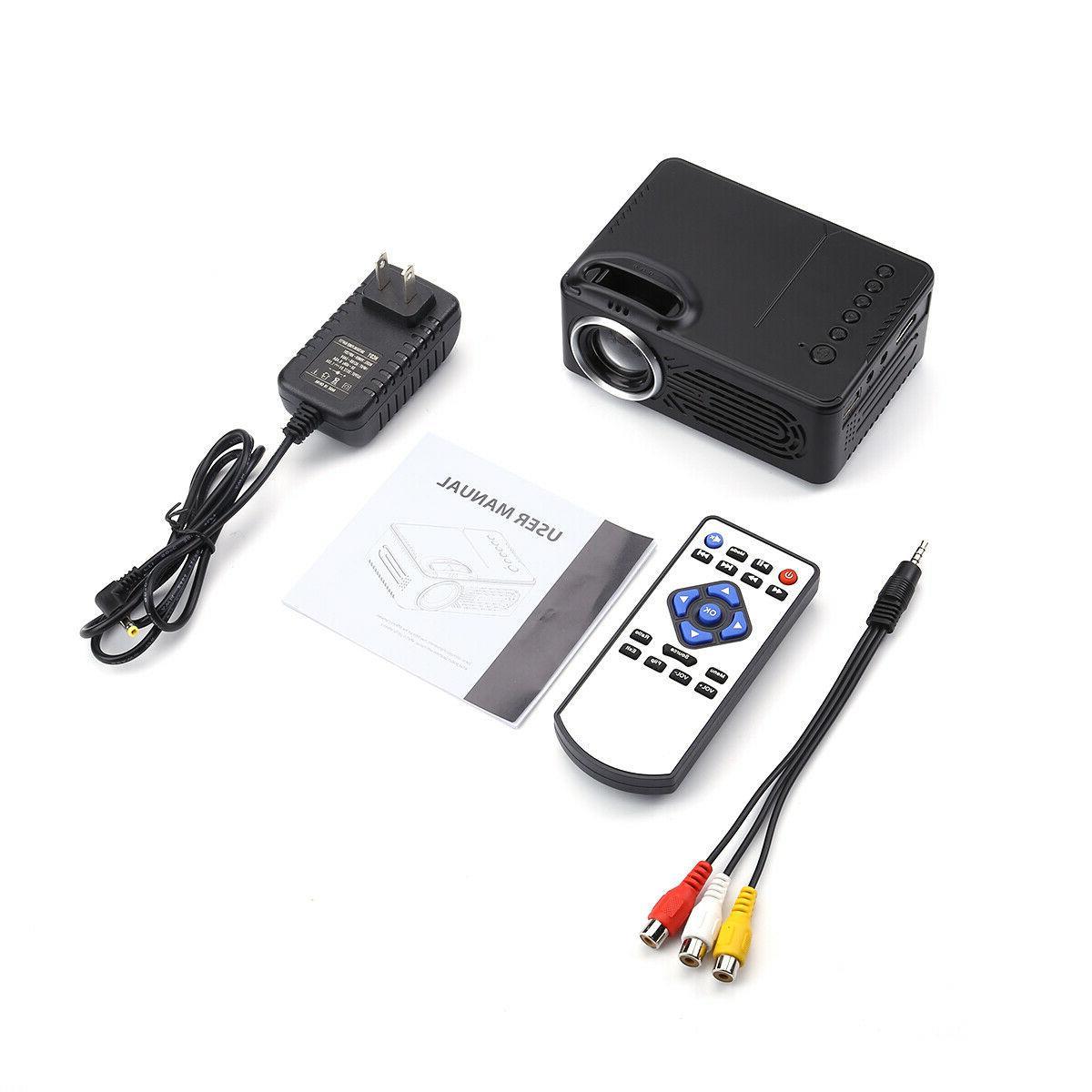 Portable Mini HD 3D Multimedia 7000 Lumens