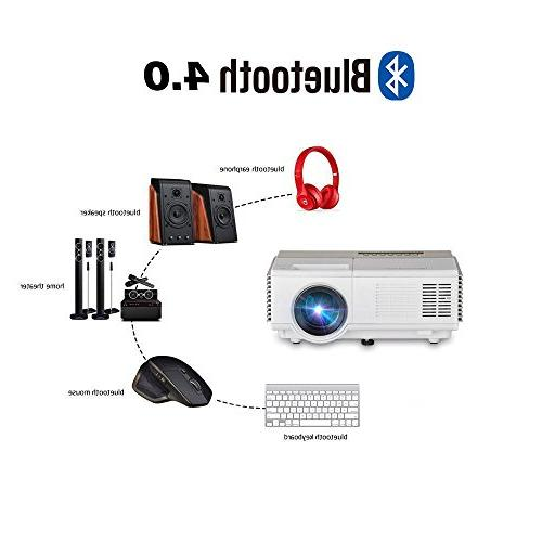 Smart Mini WiFi 1500 LED Home Wireless Support Audio USB Speakers Artwork