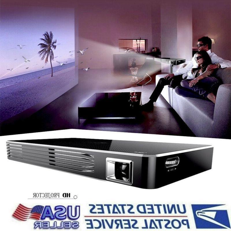 mini portable dlp intelligent projector with built
