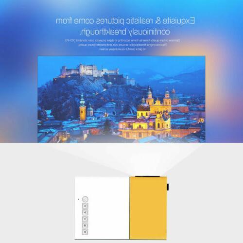 Mini Portable Multimedia LED 1080P USB