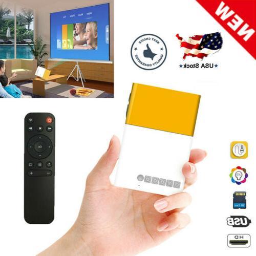mini portable lcd multimedia led projector full
