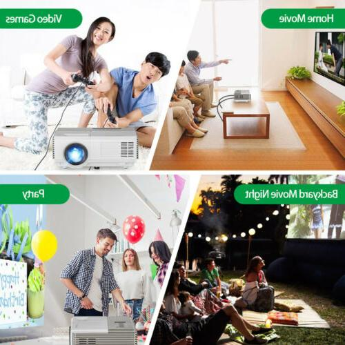 WiFi Bluetooth Wireless FHD LCD Home Movie