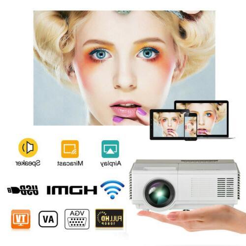 mini portable lcd smart home theater video