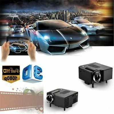Mini Projector 1080P Home Theater SDCard