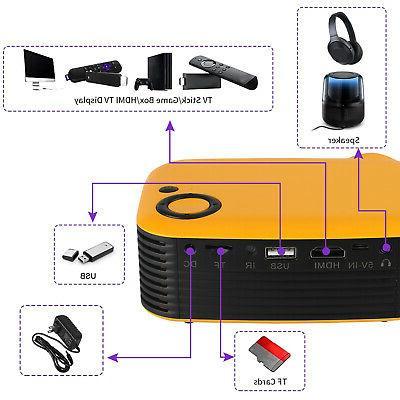 Mini Portable HD Home Theater Cinema