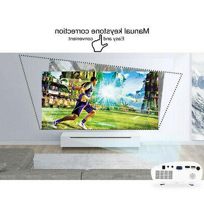 Mini Multimedia Projector 3D Full HD 1080P Home Theater
