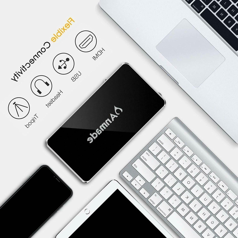 Mini DLP- Pocket Projector 1080P Card/Wifi/Bluetooth