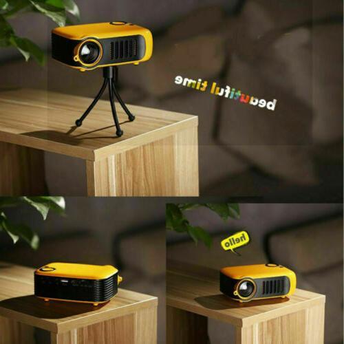 Mini Portable HD 1080P Video Home HDMI VGA AV SD