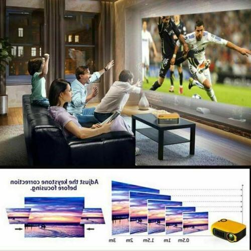 Mini Pocket HD Movie Video Home VGA AV SD