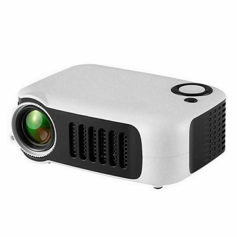 Mini Portable Pocket Projector HD 1080P Video TF Gift
