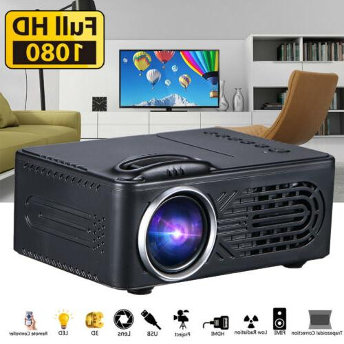 1080p hd mini portable led projector 3d