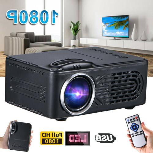 1080P HD Mini LED 3D Theater Cinema Video HDMI USB