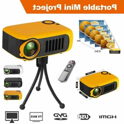 23000LM Mini 1080P Portable Pocket Projector Movie Video Pro