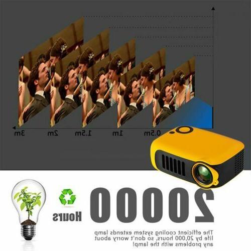 Mini Portable Pocket HD 1080P Projectors
