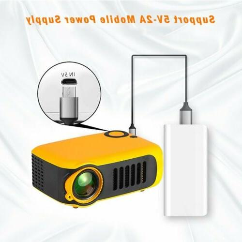 Mini Pocket HD 1080P LCD Home Theater Video US